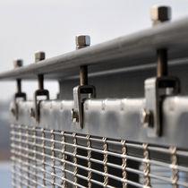 Sistema di fissaggio in acciaio inossidabile / per rivestimento di facciata / per facciata continua / per esterni