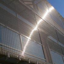 Tela metallica per frangisole / per muro / per facciata continua / in acciaio inox