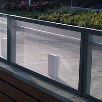 Ringhiera in metallo / a sbarre / da esterno / per balcone