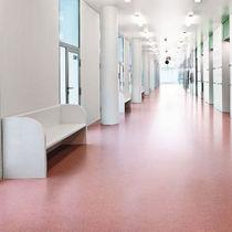Pavimento in linoleum / professionale / liscio / aspetto cemento colorato