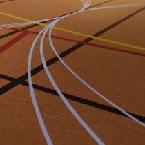 Pavimentazione sportiva in linoleum / per interni / per sale polivalenti