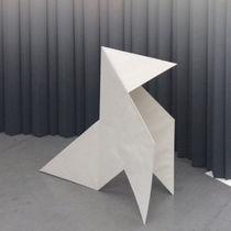 Membrana tessile di carta / per parete / ignifuga / con motivo stampato