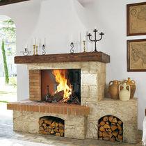 Rivestimento per camini classico / in pietra / in legno
