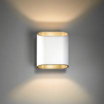 Applique moderna / in metallo / LED / alogena