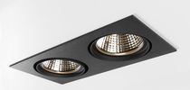 Faretto da incasso a soffitto / da interno / LED / quadrato