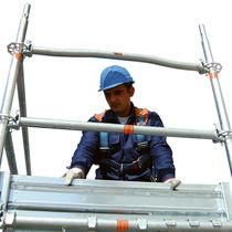 Ponteggio in acciaio galvanizzato / di grande altezza