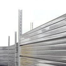 Recinzione per cantiere / a pannelli / in acciaio galvanizzato / modulare