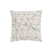 Cuscino per divano / quadrato / a motivi / in tessuto
