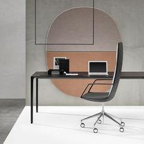 Sedia da ufficio moderna / con schienale alto / ad altezza regolabile / girevole