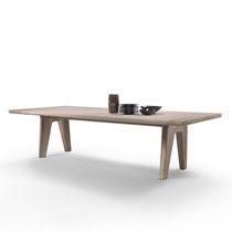 Tavolo da pranzo moderno / in legno massiccio / rettangolare / di Antonio Citterio