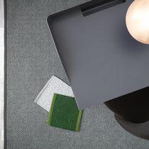 Tappeto moderno / a motivi geometrici / in lana / in lino