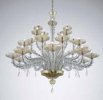 Lampadario classico / in vetro soffiato / in vetro di Murano / in metallo