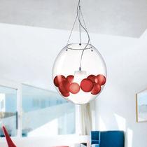 Lampada a sospensione / moderna / in vetro soffiato / in vetro di Murano