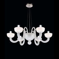 Lampadario classico / in vetro soffiato / in vetro di Murano / a incandescenza