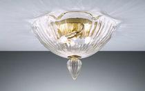 Plafoniera classica / in vetro soffiato / in vetro di Murano / in metallo