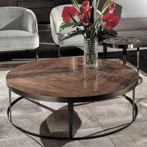 Tavolino basso moderno / in noce / in ebano / in ceramica