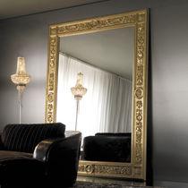 Specchio a muro / in stile / rettangolare / in metallo