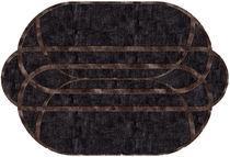 Tappeto moderno / a motivi / in lana / in seta