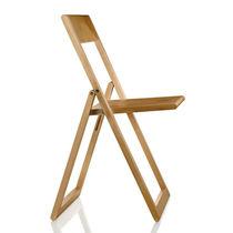 Sedia moderna / con braccioli / pieghevole / in faggio