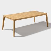 Tavolo da pranzo moderno / in quercia / in noce / in faggio