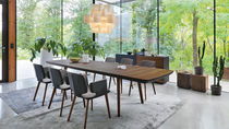 Sedia moderna / con braccioli / imbottita / girevole