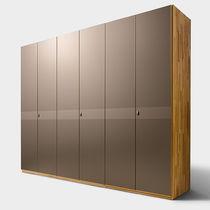 Armadio moderno / in legno / con porta scorrevole