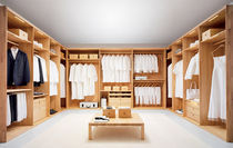 Cabina armadio moderna / in legno
