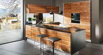 Cucina moderna / in acciaio inox / in ciliegio / in faggio