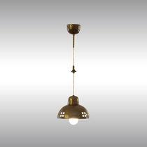 Lampada a sospensione / classica / in ottone / da interno