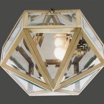 Plafoniera classica / in ottone / in cristallo / LED