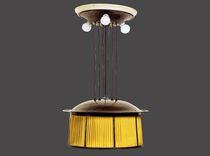 Lampada a sospensione / classica / in seta / in ottone