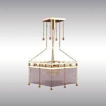 Lampada a sospensione / classica / in cristallo / in ottone