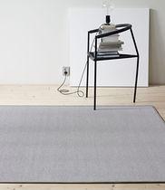 Tappeto moderno / a tinta unita / in cotone / in fibra di carta
