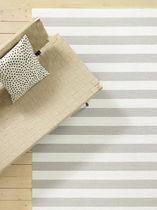 Tappeto moderno / a righe / in cotone / in fibra di carta