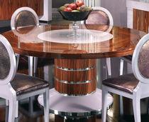 Tavolo da pranzo classico / in legno massiccio / rettangolare / rotondo