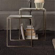 Tavolo d'appoggio moderno / in ferro / rettangolare