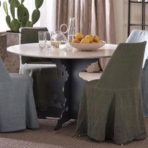 Tavolo moderno / in quercia / in vetro / in ferro