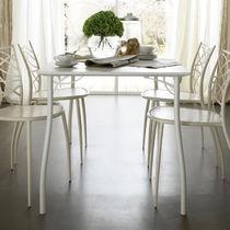 Tavolo moderno / in legno / rotondo / quadrato