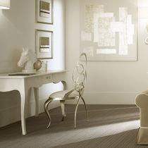 Sedia in stile / imbottita / in ferro / in filo metallico