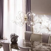 Lampadario classico / in vetro soffiato / in ferro / LED
