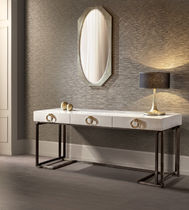 Consolle moderna / in legno / in metallo / rettangolare