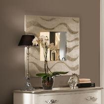 Specchio a muro / moderno / quadrato / argentato
