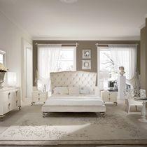 Letto standard / doppio / design nuovo barocco / in legno massiccio