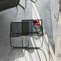 Tavolino estraibile moderno / in vetro / in marmo / in calcestruzzo