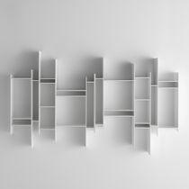 Libreria modulare / a muro / moderna / professionale