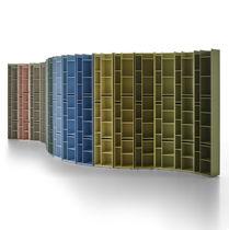 Libreria modulare / moderna / professionale / in MDF laccato