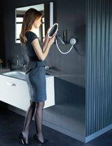 Specchio da bagno a muro / luminoso a LED / ingranditore / moderno