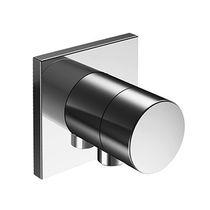Valvola di chiusura da doccia / da parete / in metallo cromato / da bagno