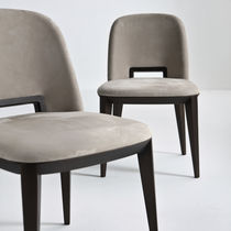 Sedia da ufficio design originale / in tessuto / in pelle / in legno