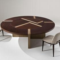 Tavolo moderno / in legno / rotondo / per ufficio